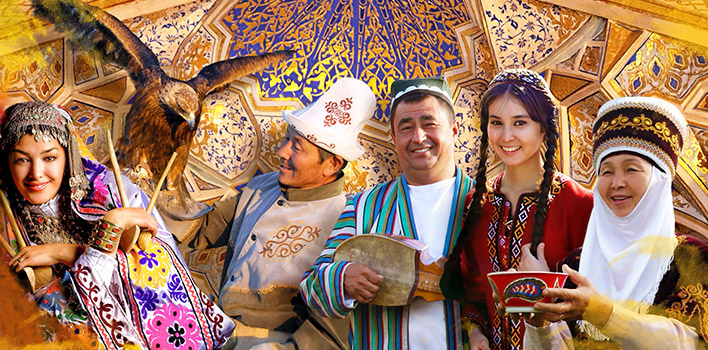 The trip to five stans of Central Asia