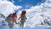 Muztagh-Ata Peak and Lenin peak