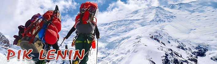 Programm der Besteigung des Pik Lenin (7134 m)