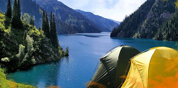 Треккинг к озеру Сары-Челек