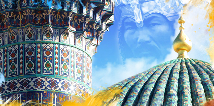Tour To the heart of Tamerlane`s empire