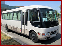 Minibus Mitsubishi Rosa