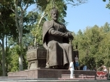 Monument to Amir Timur in Samarkand