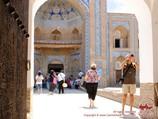 Muhammad Rakhim-Khan Madrasah. Khiva, Uzbekistan