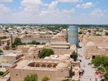 Panorama of Khiva. Uzbekistan