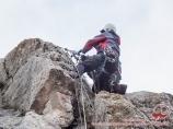 Скальные занятия. Скала «Таблички». Ущелье Аксай. Чимган, Узбекистан