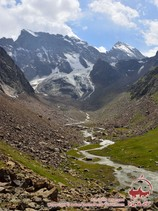 Долина реки Урям. Район Памиро-Алая, Кыргызстан