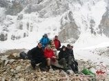 Под пиком Аксу (5355 м). Баткенский район Ошской области, Кыргызстан