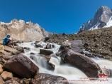 Бурная река. Баткенский район Ошской области, Кыргызстан
