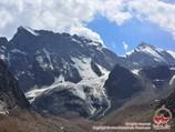 Karasu gorge. Pamir-Alay area, Kyrgyzstan