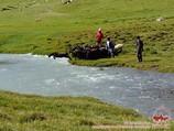 Uryam river. Pamir-Alay area, Kyrgyzstan