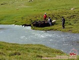 Река Урям. Район Памиро-Алая, Кыргызстан река урям