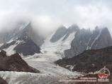 Blok peak (5239m). Pamir-Alay area, Kyrgyzstan