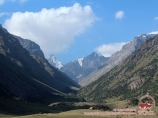 Долина Карасу. Район Памиро-Алая, Кыргызстан