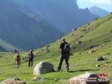 Ущелье Карасу. Район Памиро-Алая, Кыргызстан