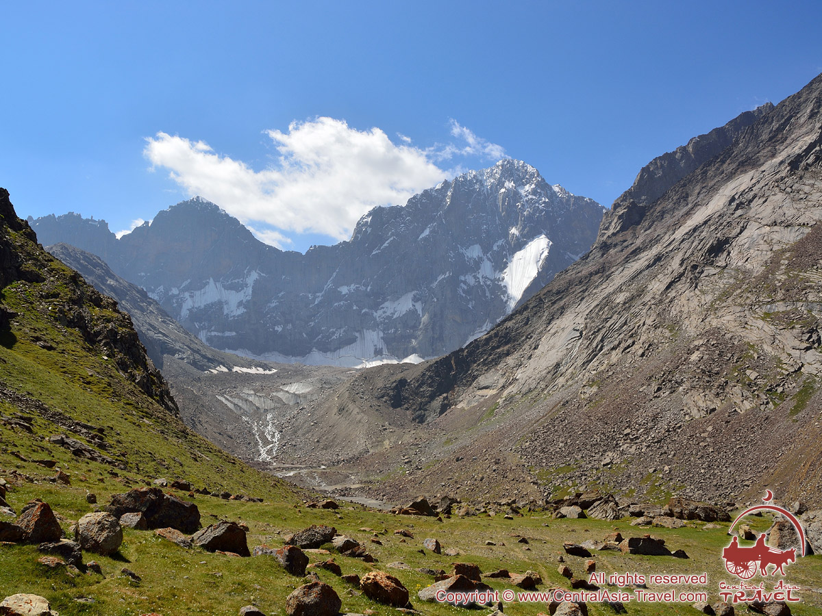Пик Сабах (5200 м). Район Памиро-Алая, Кыргызстан