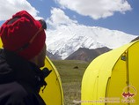 Lenin Peak (7134 m). Pamir, Kyrgyzstan
