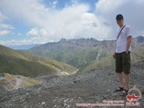 Taldyk-Pass (3615 m). Pamir