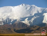 Lénine Peak (7134 m). Pamir, au Kirghizistan