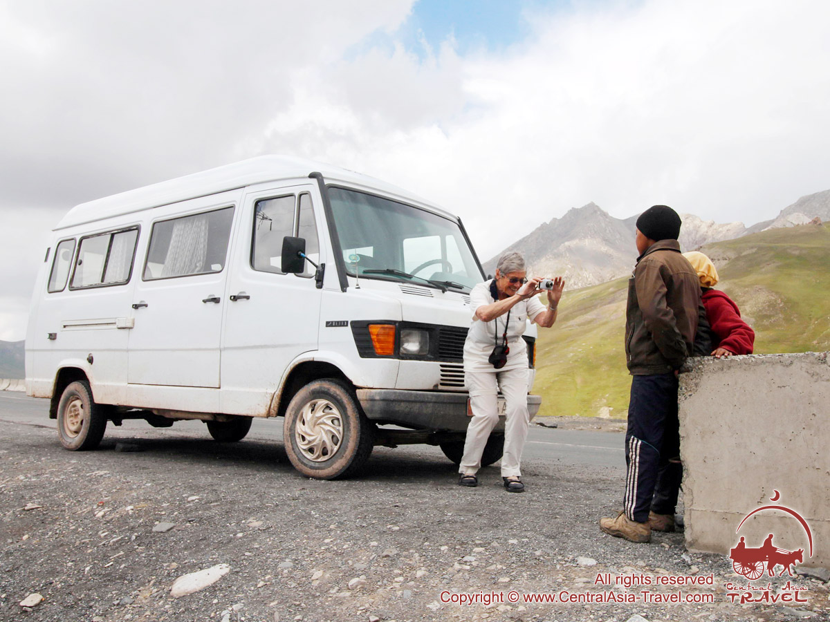 Перевал Талдык (3615 м). Памир, Кыргызстан