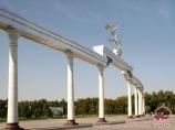 Independance square in Tashkent