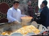 Uzbek pilaf. Uzbek national cuisine