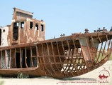 Корабль в песках. Муйнак, Узбекистан