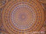 Купол медресе Тилля-Кори. Самарканд, Узбекистан
