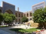 Ulugbek Madrasah (XV century). Samarkand, Uzbekistan