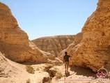 Mingbulak depression. Kyzylkum desert, Uzbekistan