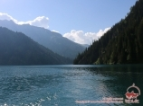 Озеро Сары-Челек. Тянь-Шань, Кыргызстан
