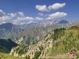 Вид с перевала Кутурма. Тянь-Шань, Кыргызстан