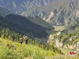 Подъем на перевал Кульдамбес (2750 м). Тянь-Шань, Кыргызстан