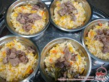 Pilaf. Cuisine of Central Asia
