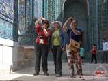 Архитектурный комплекс Шахи-Зинда. Самарканд, Узбекистан