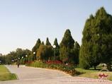 La Plaza de Independencia. Tashkent, Uzbekistán