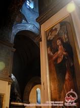 Церковь в Армении (вид изнутри)