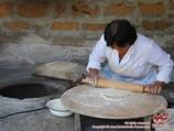 Приготовление лаваша - национального хлеба Армении
