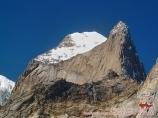 Iskander peak (5120 m). Batken district, Kyrgyzstan