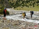 Ak-Tubek river. Batken region, Kyrgyzstan