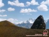Kara-su Pass (3720 m). Batken region, Kyrgyzstan