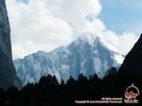 Piramidalny peak (5509 m). Batken region, Kyrgyzstan