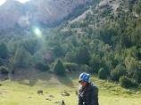 Kara-su Gorge. Batken region, Kyrgyzstan