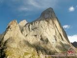 Usen peak (4378 m). Batken Region, Kyrgyzstan