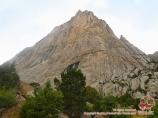 Jeltaya stena peak. Batken Region, Kyrgyzstan