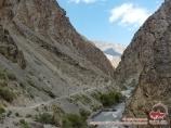 Karavshin river. Batken Region, Kyrgyzstan