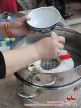 Приготовление ханума. Узбекская кухня