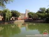 Conjunto Lyabi-Jauz. Bujara, Uzbekistán