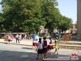 Lyab-I Hauz Architectural Ensemble. Bukhara, Uzbekistan