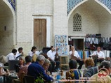 Madrasah of Nadir Divan-begi. Bukhara, Uzbekistan